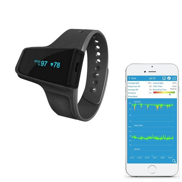 Picture of Viatom Checkme™ O2 - wirless wrist pulse oximeter
