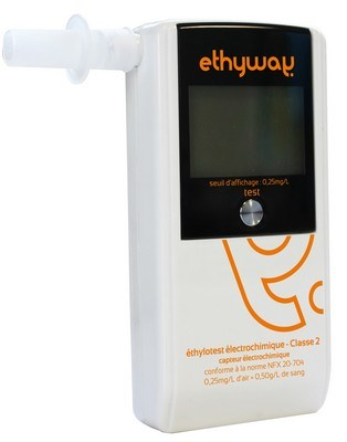Picture of Breathalyzer with NF-Certificate for France / Modell: ethyway