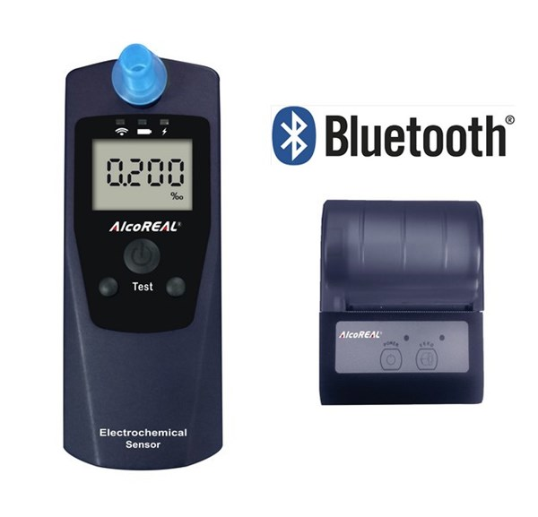 Picture of Breathalyzer AlcoREAL Cobra 588 incl. mobile Printer / EN15964