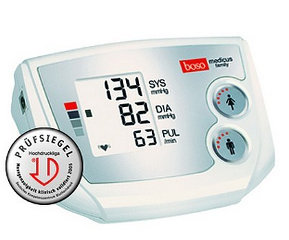 Picture of boso medicus family upper arm blood pressure monitor