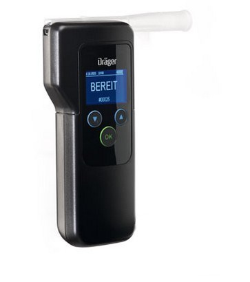 Picture of Breathalyzer / Alcohol screening device Dräger Alcotest® 5820