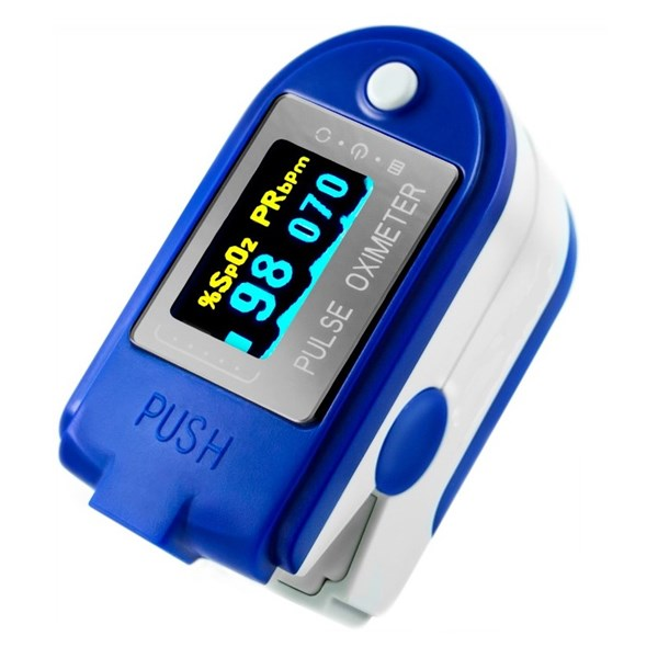 Picture of Pulse Oximeter with OLED-Display - SpO2-Puls-Monitor (Recorder)