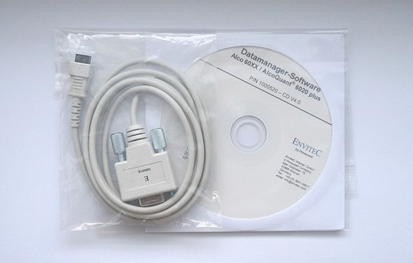 Picture of EnviteC Datamanager Alco 60XX/6020 PC-Cable + Software