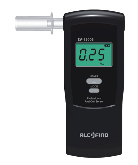 Picture of Breathalyzer Alcofind DA-8500E